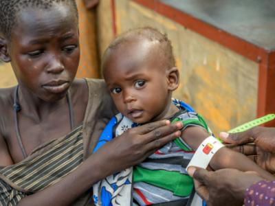 Medical relief for children in Uganda