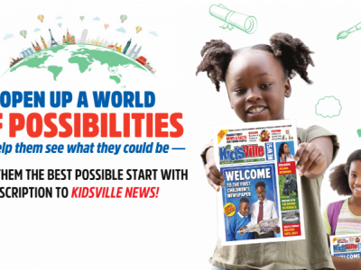 Sponsor a School with Kidsville News!