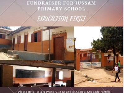 Fundraising for Jussam Primary School