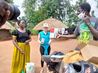 Action4Albinism : Healthcare Support Project