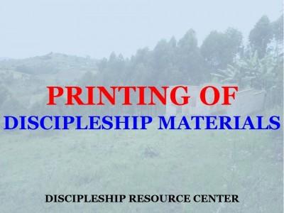 Printing of Discipleship Materials (2020)